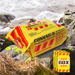 60 x CONVAR-B (Hard Baked Biscuits 155g)