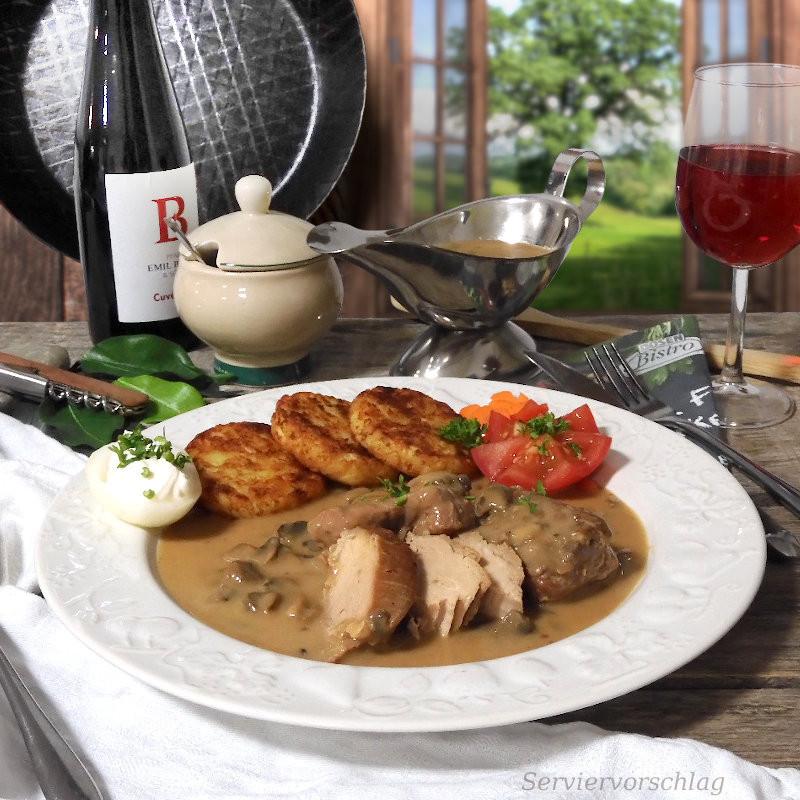 DosenBistro™ Schweinemedaillons in Champignonrahmsoße  (400g)