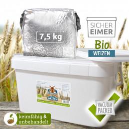 7,5kg grano biologico...