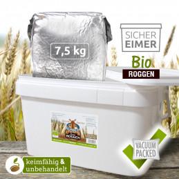 7,5kg Organic Rye (DE-ÖKO-006)
