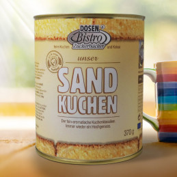 DosenBistro™ Sand cake (370g)