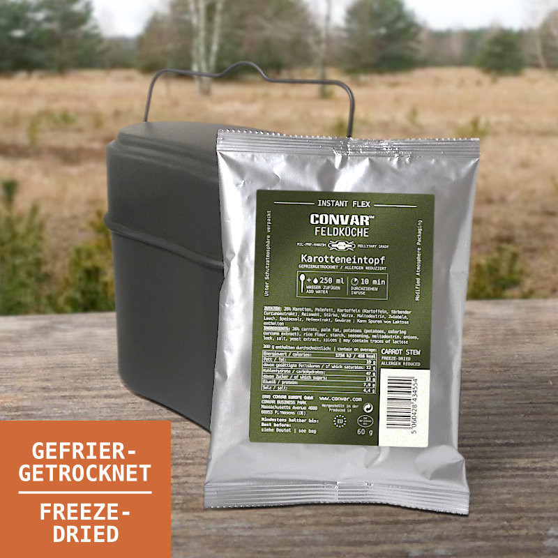CONVAR Feldküche Karotteneintopf (60g)