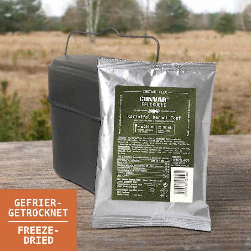 CONVAR Feldküche Kartoffel-Kerbel-Topf (60g)