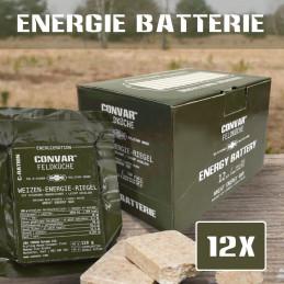 12 x CONVAR Feldküche Barres énergétiques de blé (120g)