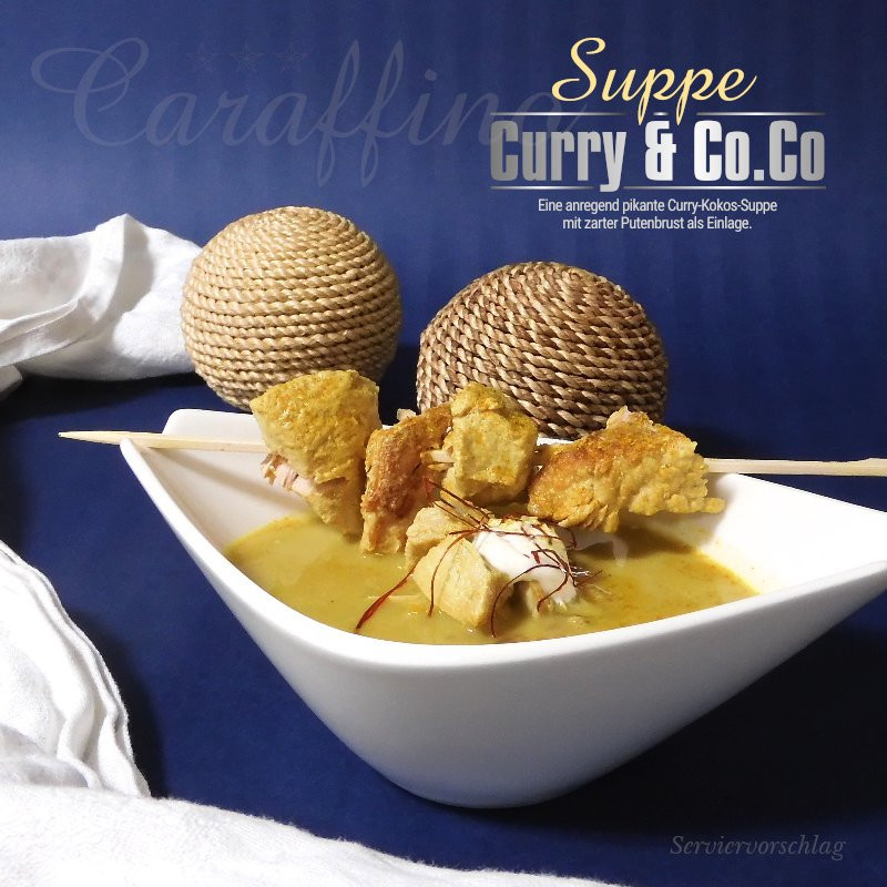Caraffino Suppe Curry & Co.Co (380ml)