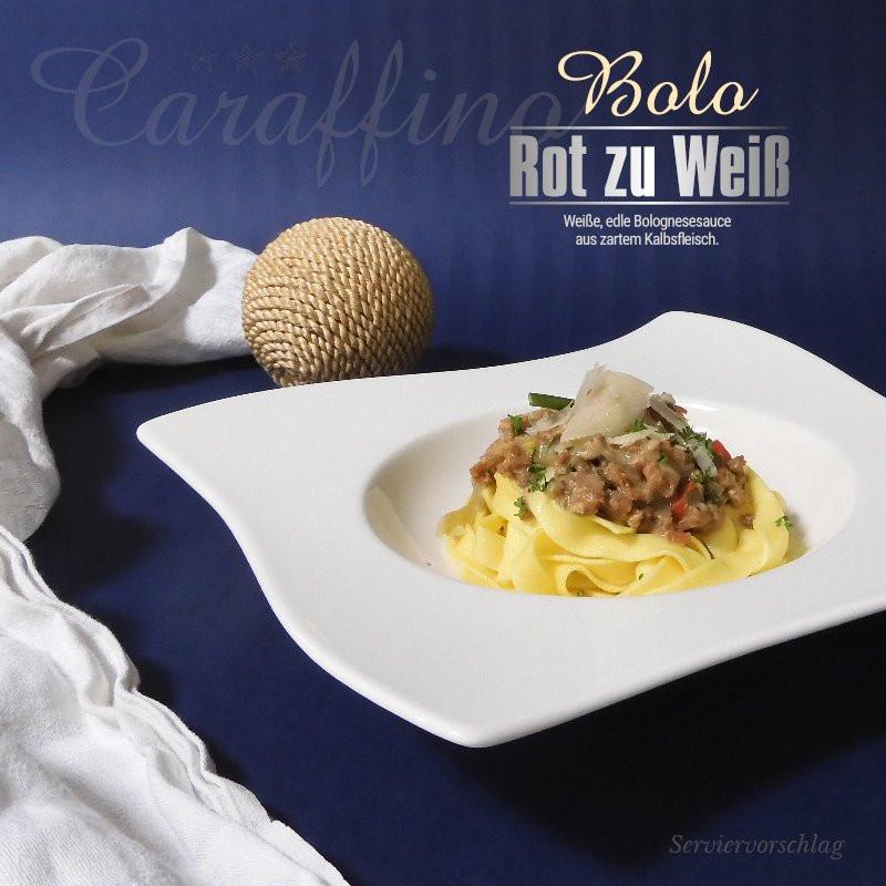 Caraffino Bolo Rot zu Weiß (400g)