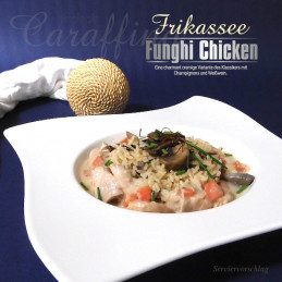Caraffino™ Chicken fricassee with mushrooms (390g)