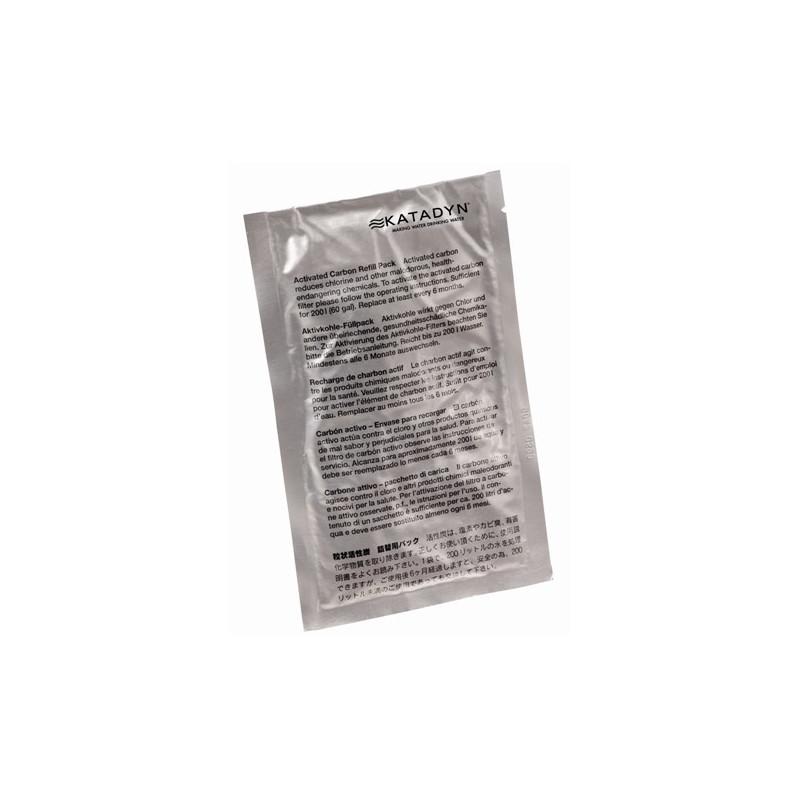 Katadyn Recharge Charbon Actif pour Filtre COMBI (pack de 2, pour 400 litres)