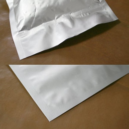 "Aluminium-laminated bag, 760mm x 500mm (30"" x 20"")"