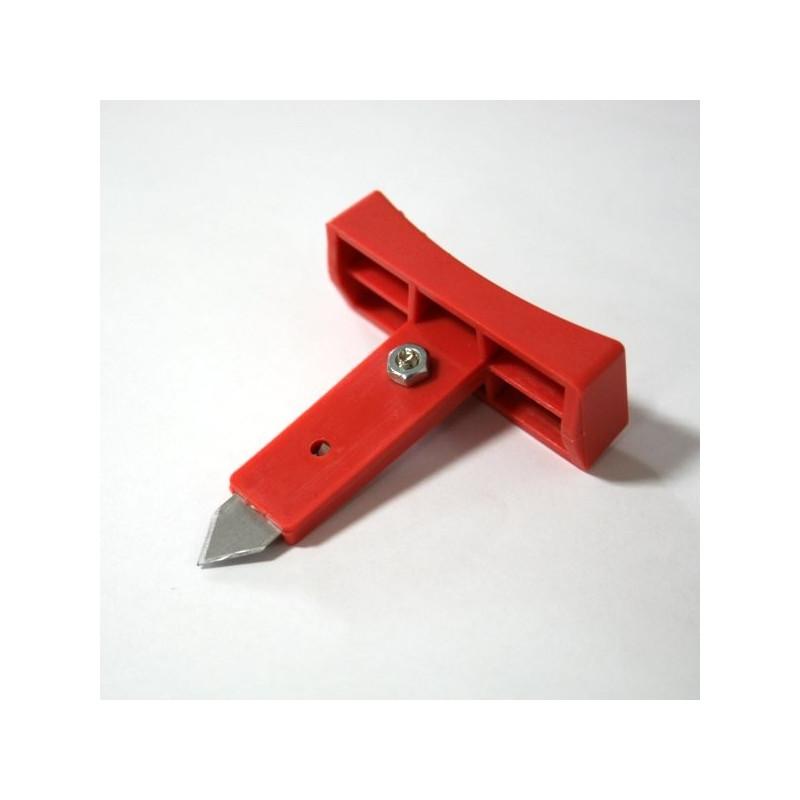 Folienschweißgerät Ersatzschiebeschlitten mit Messer