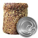 Canned bread - single can