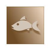 Plat principal avec du poisson