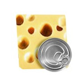 Canned cheese